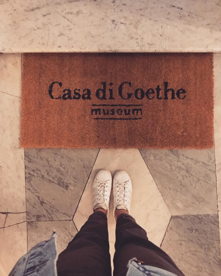 visita alla casa museo di Goethe a Roma