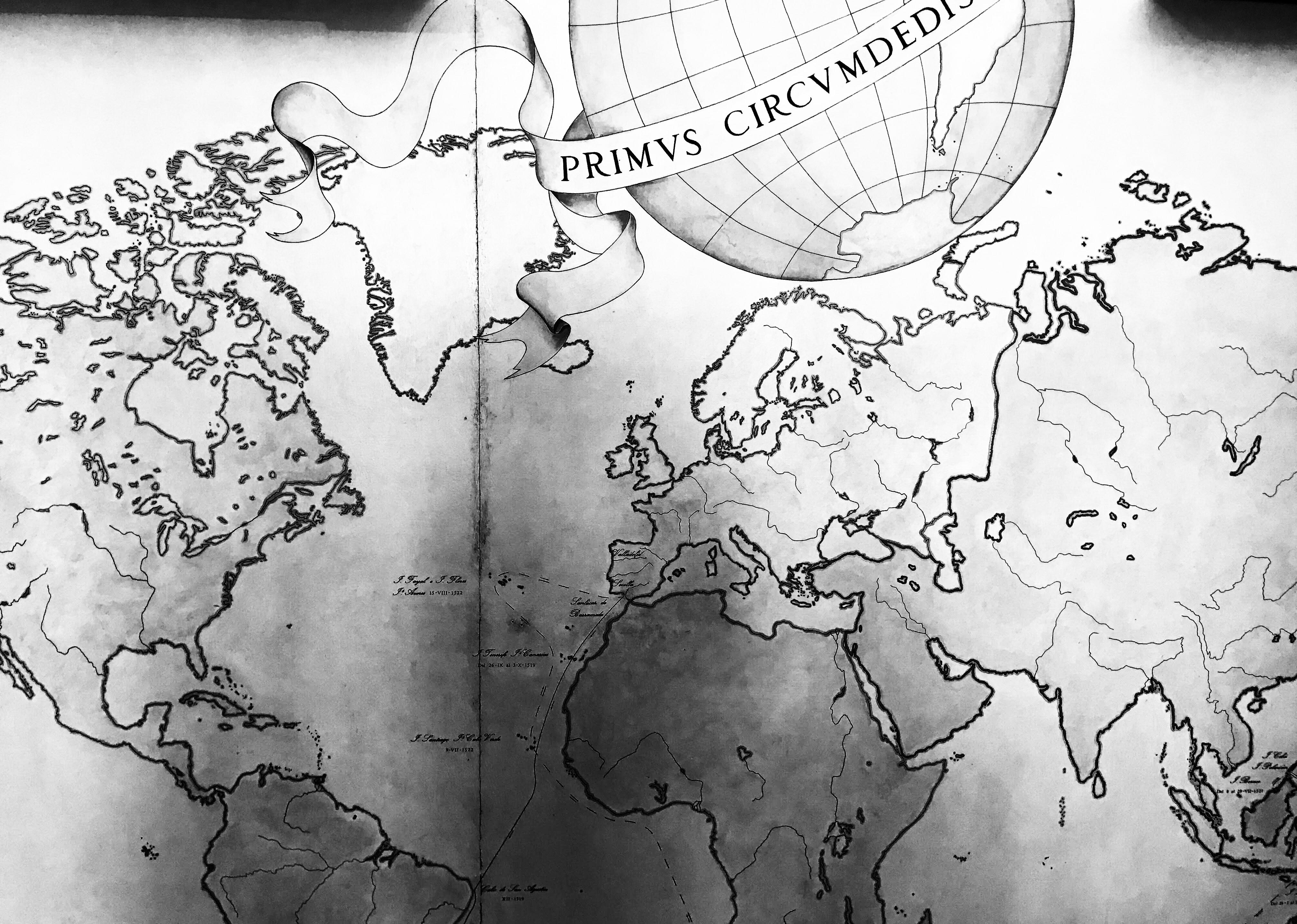 un esploratore di dieci anni e la sua mappa